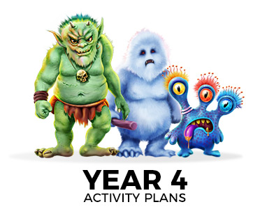 Monstats key stage 2 activity plans for year 4